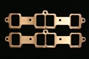 Oldsmobile Copper Embossed Exhaust Gaskets, Header, Stock Port,