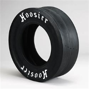 Hoosier Drag Racing Tire, 30.0 x 10.5-15, Ra